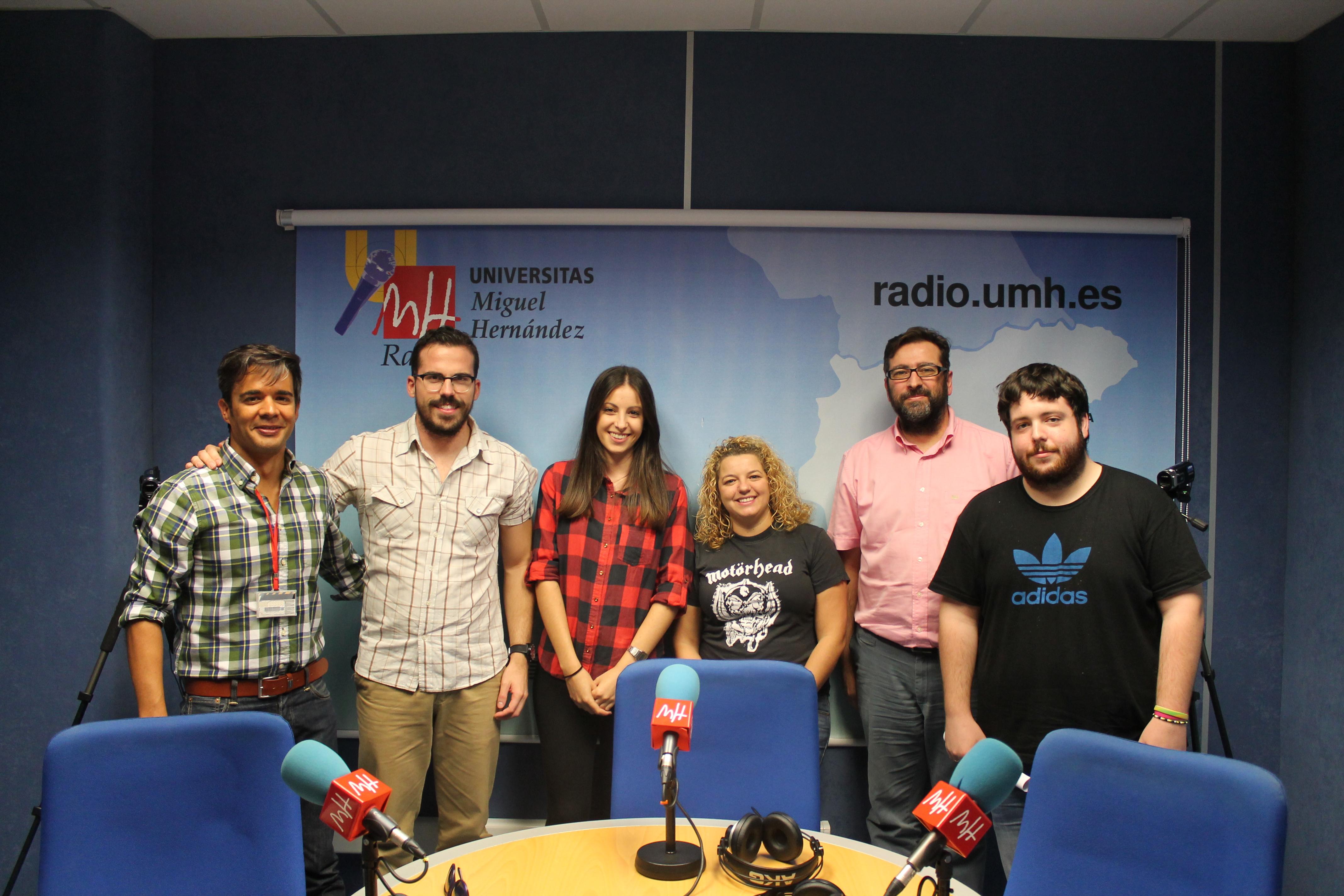 Alumni UMH en la radio