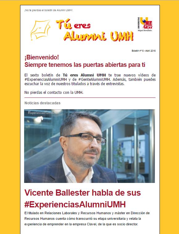 Boletín nº 6 - Abril 2016