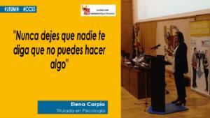 Elena Carpio cita