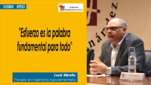 Jose Mirete cita