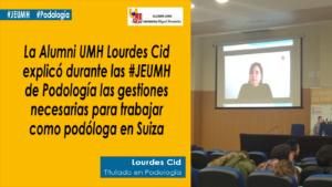 Lourdes Cid cita