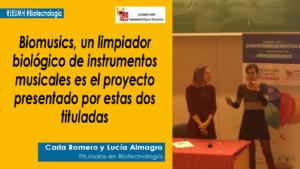 Carla Romero y Lucía Almagro